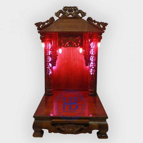 Bàn Thờ Thần Tài 4 Mái 48cm Đẹp Giá Rẻ ở Hà Nội   Cửa hàng Hiếu Bằng