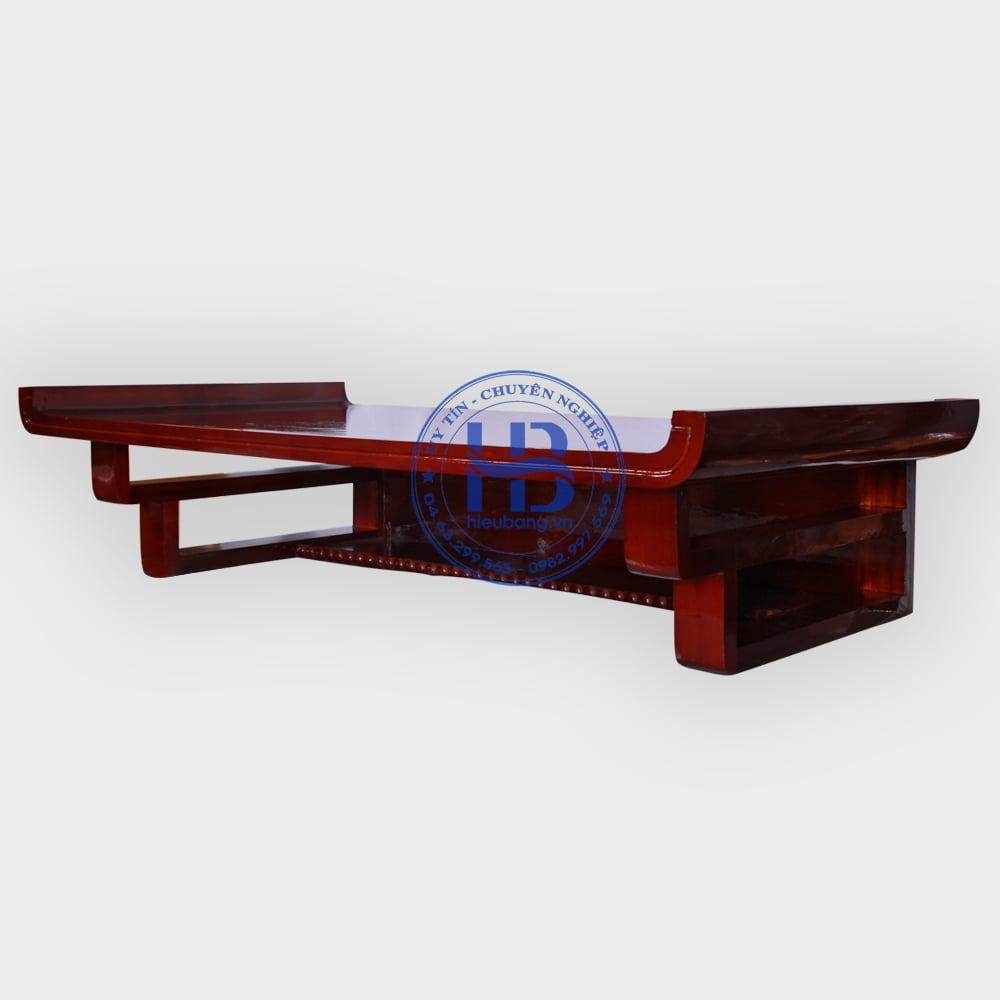 Bàn Thờ Treo Tường Chung Cư Gỗ Pơmu Màu Gụ 89x48cm Đẹp Giá Rẻ ở Hà Nội | Cửa hàng Hiếu Bằng