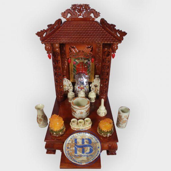 Bộ Bàn Thờ Thần Tài 4 Mái 48cm Đẹp Giá Rẻ ở Hà Nội | Cửa hàng Hiếu Bằng