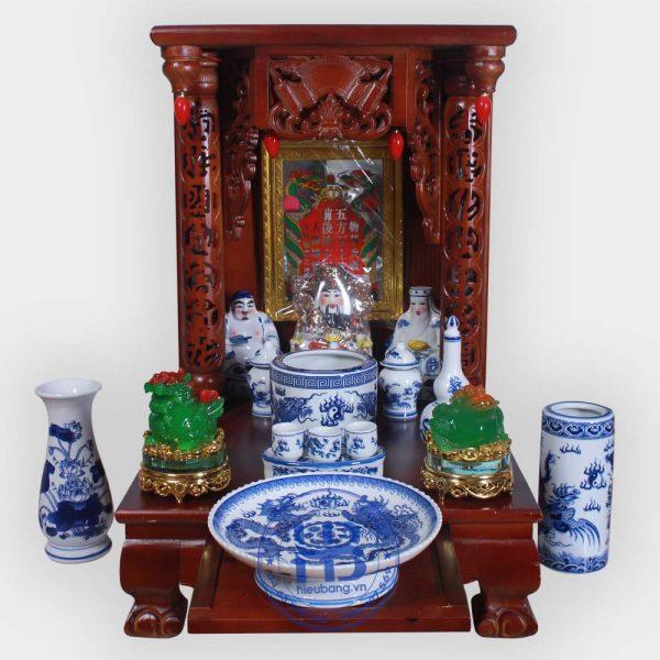 Bộ Bàn Thần Tài Gỗ Xoan 48cm Đẹp Giá Rẻ ở Hà Nội | Cửa hàng Hiếu Bằng