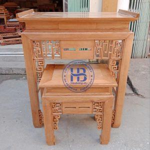 An Gian Thờ Gỗ Sồi Đẹp GIá Rẻ ở Hà Nội | Cửa hàng Hiếu Bằng