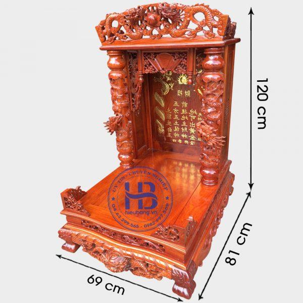 Bàn Thờ Thần Tài Gỗ Hương Cao Cấp Đẹp Giá Rẻ ở Hà Nội | Cửa hàng Hiếu Bằng