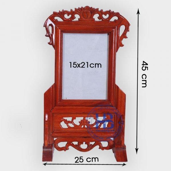 Khung Ảnh Thờ Gỗ Hương 15x21cm Đẹp Giá Rẻ ở Hà Nội | Cửa hàng Hiếu Bằng