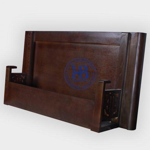 Bàn Thờ Treo Tường Gỗ Sồi Màu Óc Chó 89cm Đẹp Giá Rẻ ở Hà Nội   Cửa hàng Hiếu Bằng