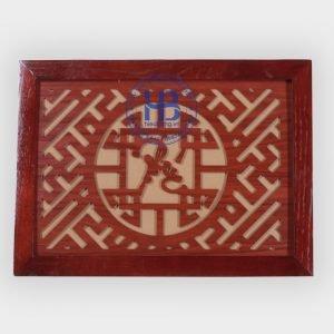 Tấm Chống Am Khói Màu Gụ 30x40cm Đẹp Giá Rẻ ở Hà Nội