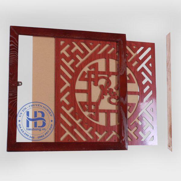 Tấm Chống Ám Khói Màu Gụ 40x40cm Đẹp Giá Rẻ ở Hà Nội