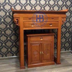 Bàn thờ gỗ hương đẹp giá tốt ở Hà Nội | Top 10 mẫu bàn thờ đẹp | Cửa hàng Hiếu Bằng