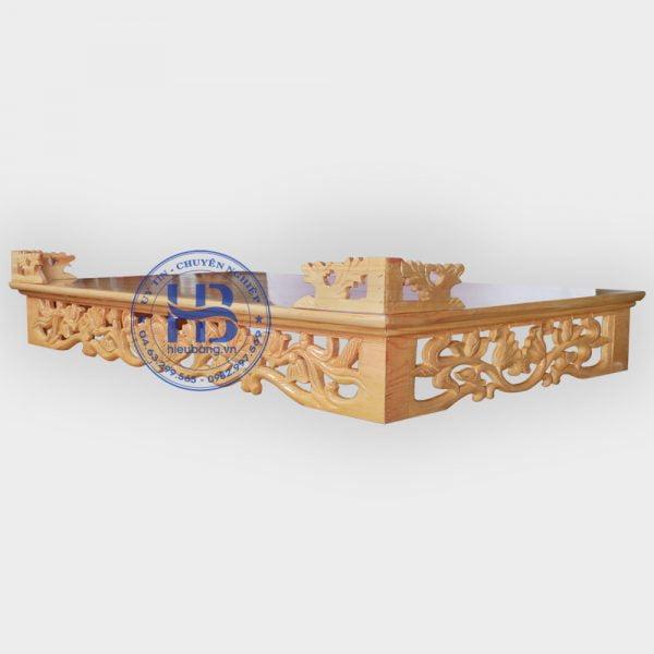 Bàn thờ treo tường đực Sen đẹp giá rẻ ở Hà Nội | Bàn thờ