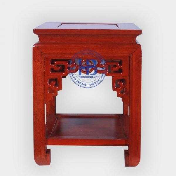 Đôn kê gỗ Gụ mặt vuông 40cm đẹp giá rẻ ở Hà Nội | Cửa hàng Hiếu Bằng