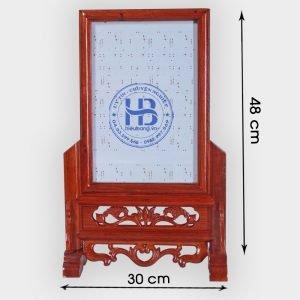 Khung ảnh thờ gỗ Hương 20x30cm đẹp giá rẻ ở Hà Nội   Cửa hàng Hiếu Bằng