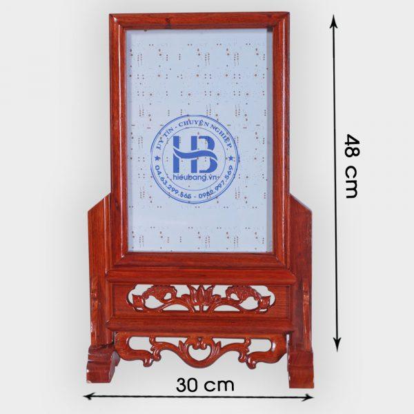 Khung ảnh thờ gỗ Hương 20x30cm đẹp giá rẻ ở Hà Nội | Cửa hàng Hiếu Bằng