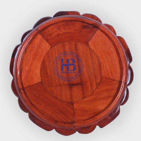 Đế kê kỷ váy gỗ Hương 14cm đẹp giá rẻ ở Hà Nội | Đế kê gỗ hương