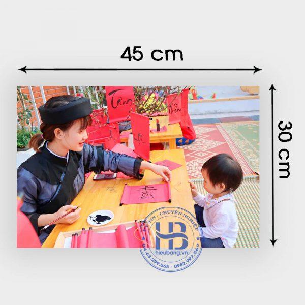 In ảnh 30*45cm Đẹp giá rẻ ở Hà Nội | In ảnh đẹp giá tốt