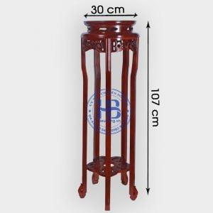Đôn kê gỗ Gụ 107cm đẹp giá rẻ ở Hà Nội | Đôn gỗ