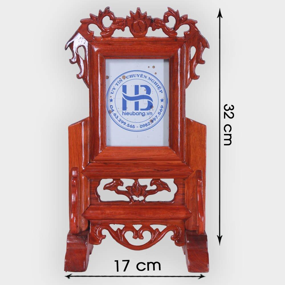 Khung ảnh thờ gỗ Hương 10x15cm đẹp giá rẻ ở Hà Nội | Cửa hàng Hiếu Bằng