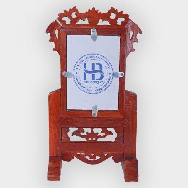 Khung ảnh thờ gỗ Hương 13x18cm đẹp giá rẻ ở Hà Nội | Khung thờ đẹp