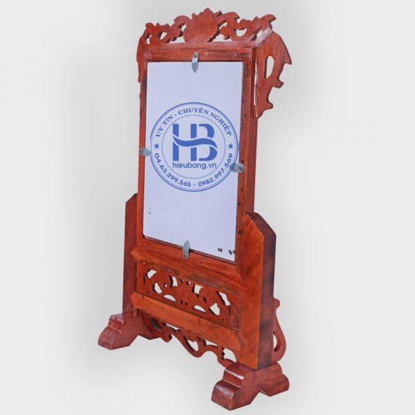 Khung ảnh thờ gỗ Hương 18x24cm đẹp giá rẻ ở Hà Nội | Khung ảnh thờ