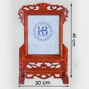 Khung ảnh thờ gỗ Hương 20x25cm đẹp giá rẻ ở Hà Nội   Cửa hàng Hiếu Bằng
