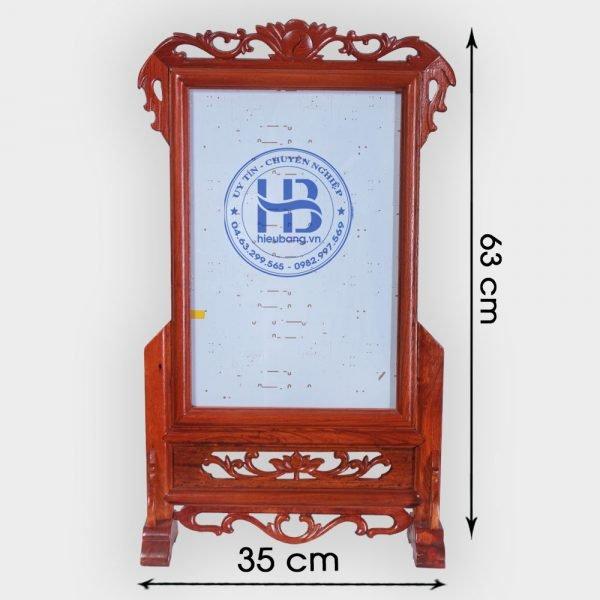 Khung ảnh thờ gỗ Hương 25x38cm đẹp giá rẻ ở Hà Nội | Cửa hàng Hiếu Bằng