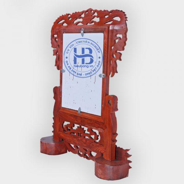 Khung ảnh thờ gỗ Hương chân Rồng 18x24cm đẹp giá rẻ ở Hà Nội