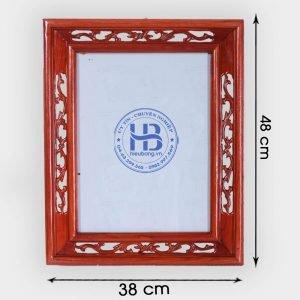 Khung ảnh thờ kép gỗ Hương 25x35cm đẹp giá rẻ ở Hà Nội