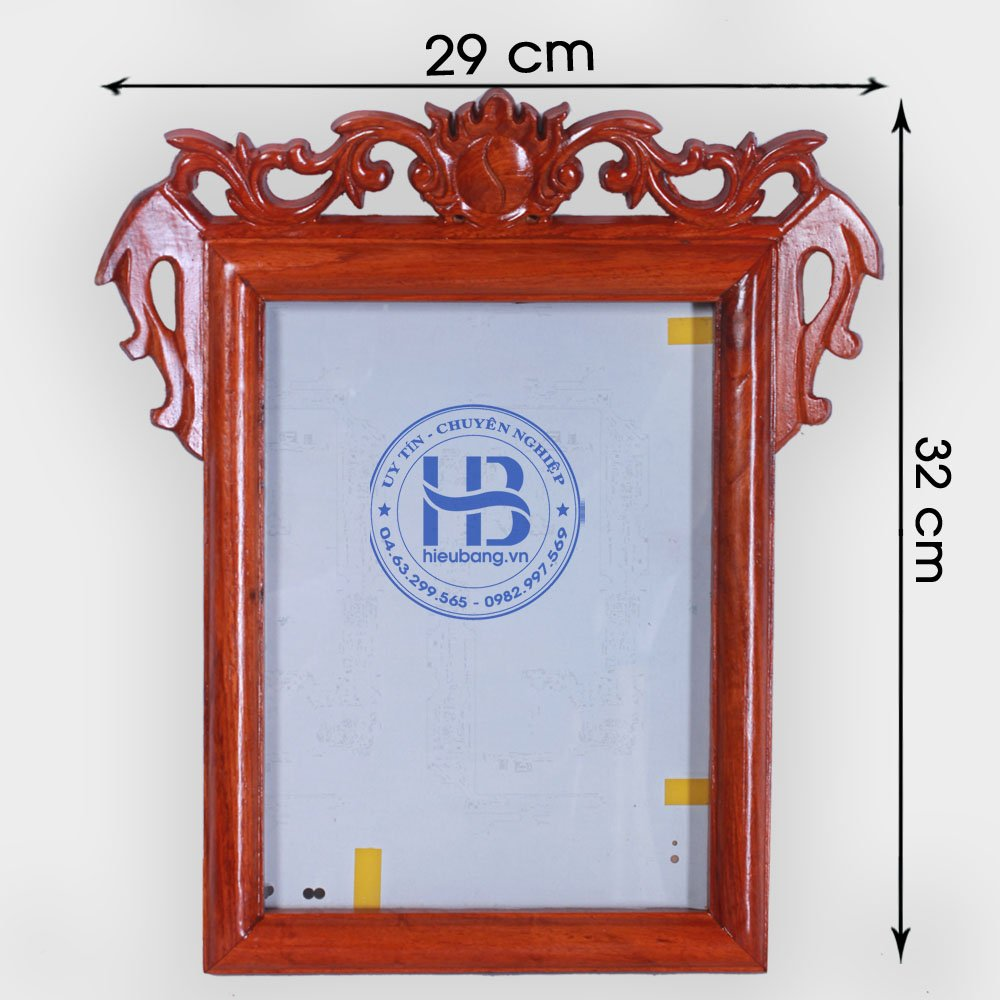 Khung ảnh thờ treo gỗ Hương 18x24cm đẹp giá rẻ ở Hà Nội | Khung thờ