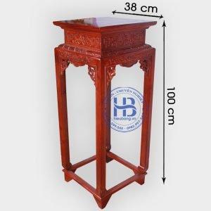Đôn gỗ Hương cao 100cm đẹp giá rẻ ở Hà Nội | Cửa hàng Hiếu Bằng