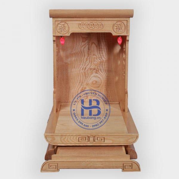 Bàn Thờ Thần Tài Hiện Đạn Gỗ Sồii Đẹp Giá Rẻ ở Hà Nội | Bàn Thần Tài gỗ Sồi