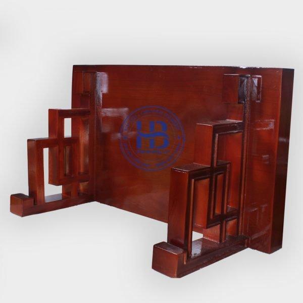 Bàn Thờ Treo Tường Hiện Đại Gỗ Sồi Màu Gụ 89x48cm Đẹp Giá Rẻ ở Hà Nội | Mẫu mã đa dạng
