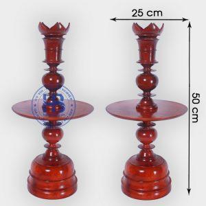 Chân đèn bằng gỗ Hương đẹp giá rẻ ở Hà Nội, mẫu mã đa dạng