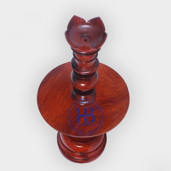 Chân đèn bằng gỗ Hương đẹp giá rẻ ở Hà Nội