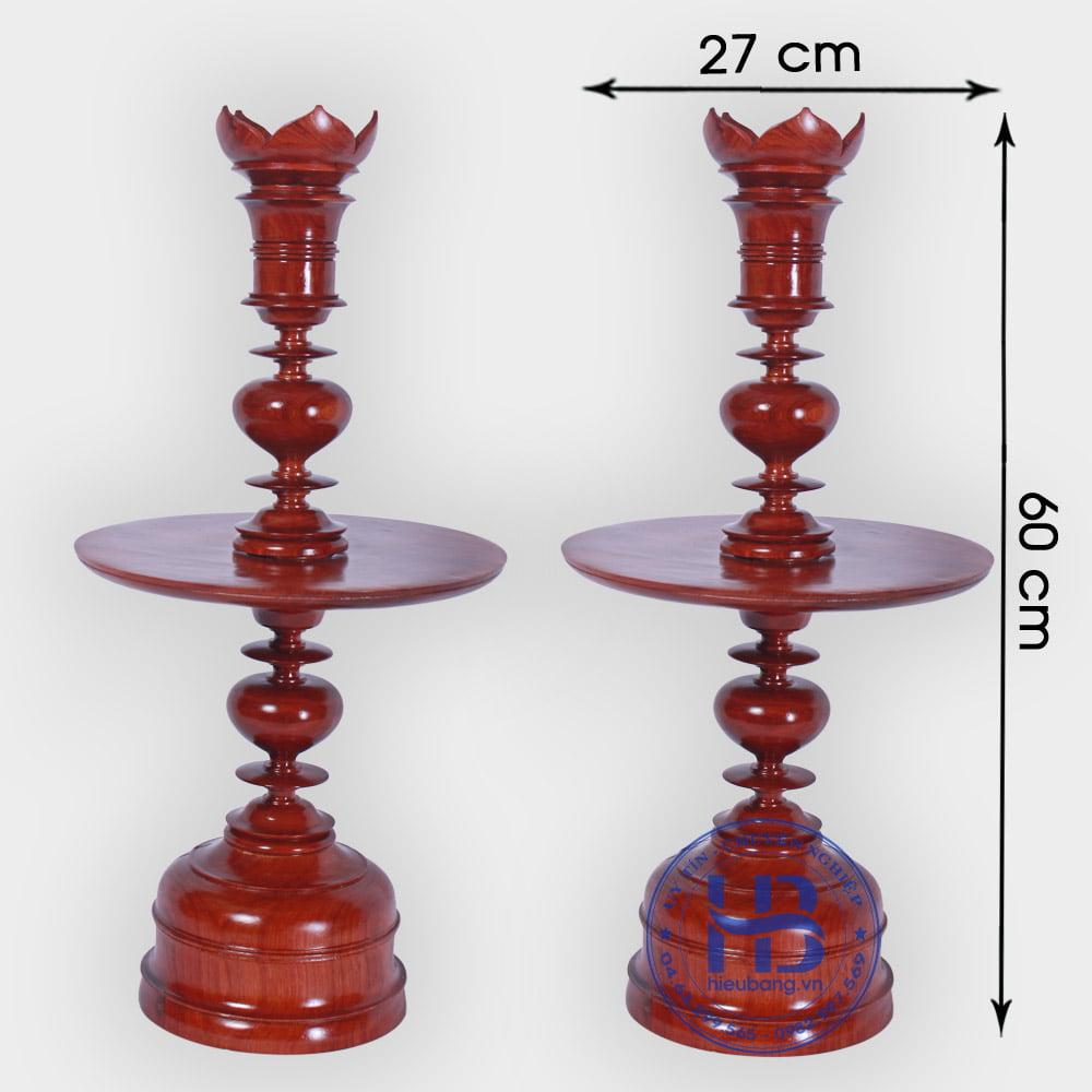 Chân Đèn Bằng Gỗ Hương 60cm Cao Cấp Đẹp Giá Rẻ ở Hà Nội   Đồ Thờ gỗ Hương