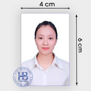 Chụp ảnh thẻ hộ chiếu 4x6cm lấy ngay đẹp giấ rẻ ở Hà Nội | Chụp ảnh thẻ