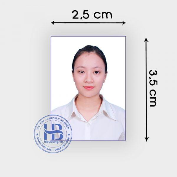 Chụp ảnh thẻ CMND 2.5x3.5cm lấy ngay đẹp giấ rẻ ở Hà Nội, ship hàng nhanh nội thành