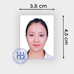 Chụp ảnh thẻ visa 3,5x4,5cm lấy ngay đẹp giá rẻ ở Hà Nội | Ảnh thẻ đẹp