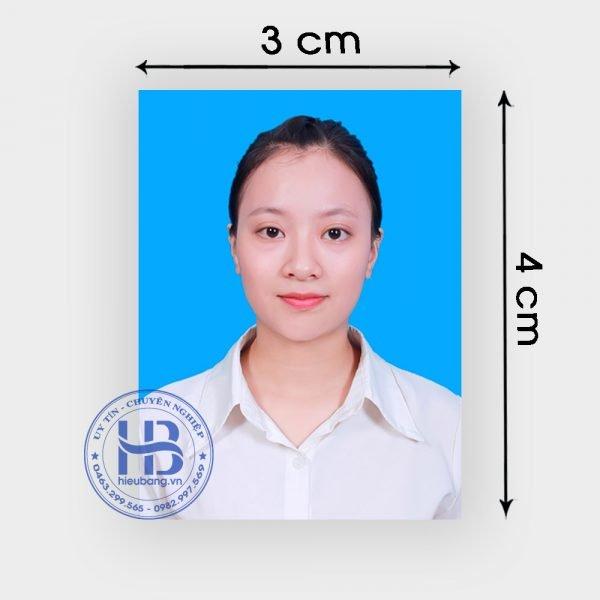 Chụp ảnh thẻ 3x4cm lấy ngay đẹp giá rẻ ở Hà Nội | Nhận chụp ảnh thẻ tại nhà ở Hà Nội