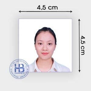 Chụp ảnh thẻ visa 3,5x4,5cm lấy ngay đẹp giá rẻ ở Hà Nội | Nhận chụp ảnh thẻ tại nhà