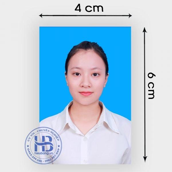 Chụp ảnh thẻ 4x6cm lấy ngay đẹp giá rẻ ở Hà Nội   Nhận chụp ảnh thẻ tại nhà ở Hà Nội