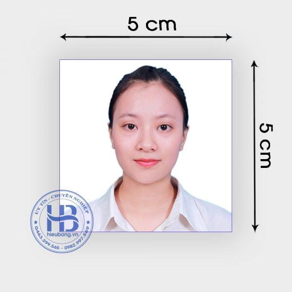 Chụp ảnh thẻ hộ chiếu 5x5cm lấy ngay đẹp giá rẻ ở Hà Nội | Chụp ảnh thẻ