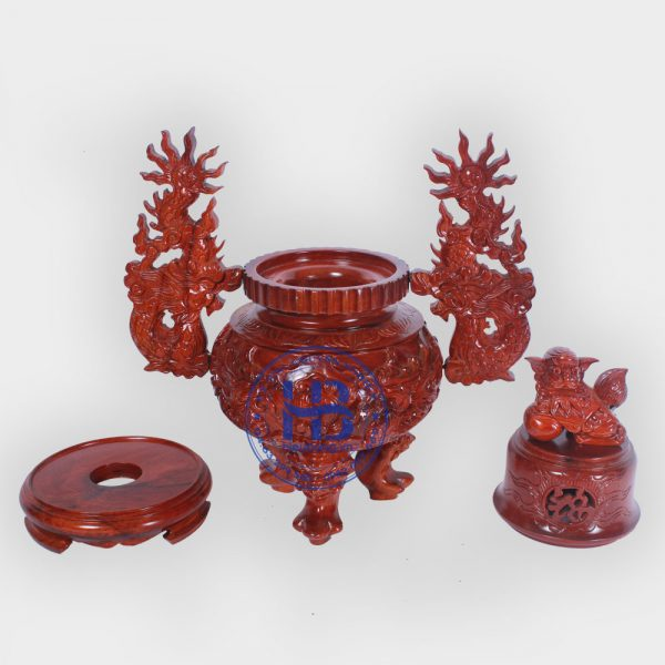 Đỉnh thờ bằng gỗ Hương đẹp giá rẻ ở Hà Nội | Đồ thờ