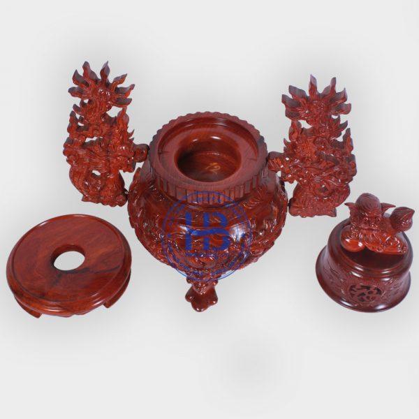 Đỉnh thờ bằng gỗ Hương đẹp giá rẻ ở Hà Nội | Đồ thờ đẹp