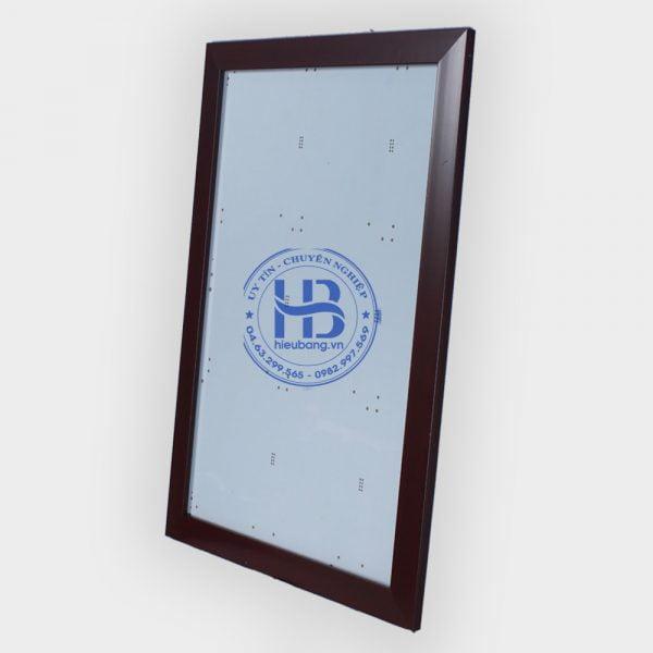 Khung ảnh 30x45cm b3 nâu đẹp giá rẻ ở Hà Nội | Khung ảnh