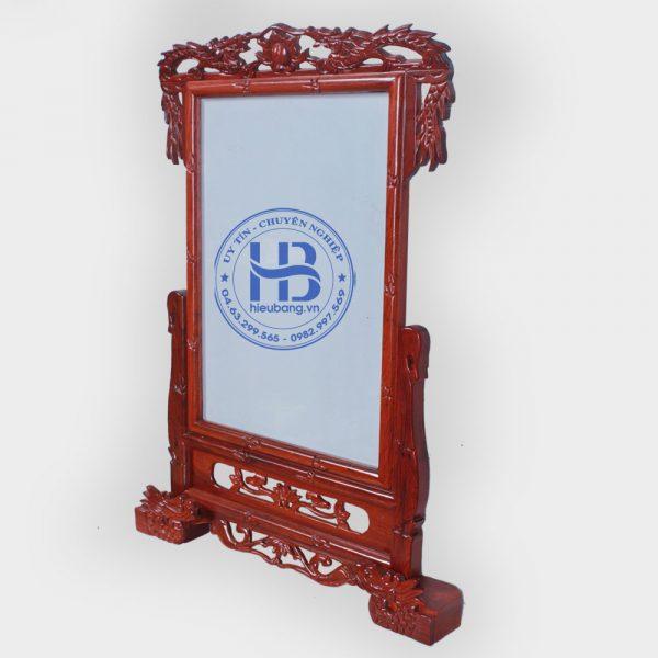 Khung ảnh thờ gỗ Hương chân Rồng 35x35cm Cao Cấp Đẹp Giá Rẻ ở Hà Nội