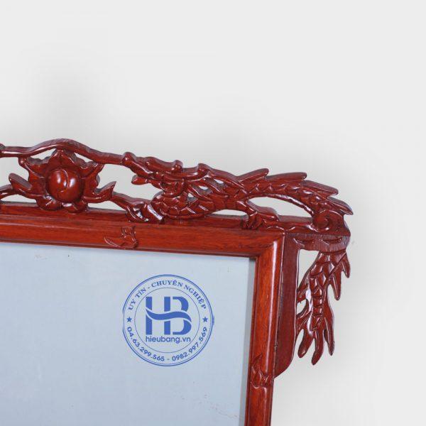 Khung ảnh thờ gỗ Hương chân Rồng 35x35cm Cao Cấp Đẹp Giá Rẻ ở Hà Nội | Khung thờ