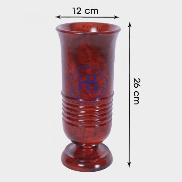 Ống đựng nhang bằng gỗ Hương 26cm đẹp giá rẻ ở Hà Nội   Đồ thờ bằng gỗ