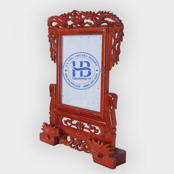Khung ảnh thờ gỗ hương chân rồng 20x25cm đẹp giá rẻ ở Hà Nội | Khung thờ