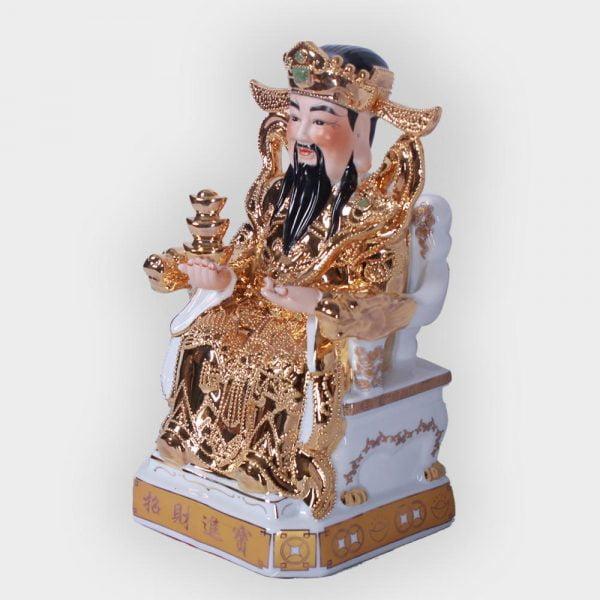 Ông thần tài phát lộc vàng kim cao cấp đẹp ở Hà Nội