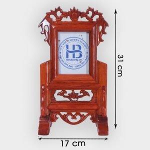 Khung ảnh thờ gỗ hương 10x15cm đẹp giá rẻ ở Hà Nội | Khung thờ