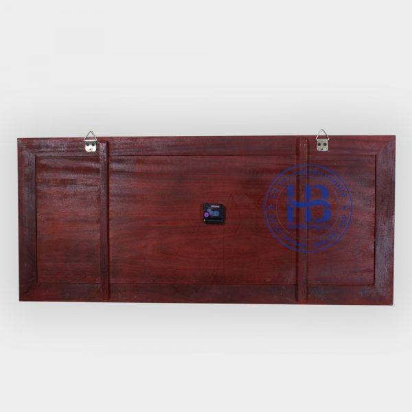 Đồng hồ tranh gỗ Hương đẹp giá rẻ ở Hà Nội