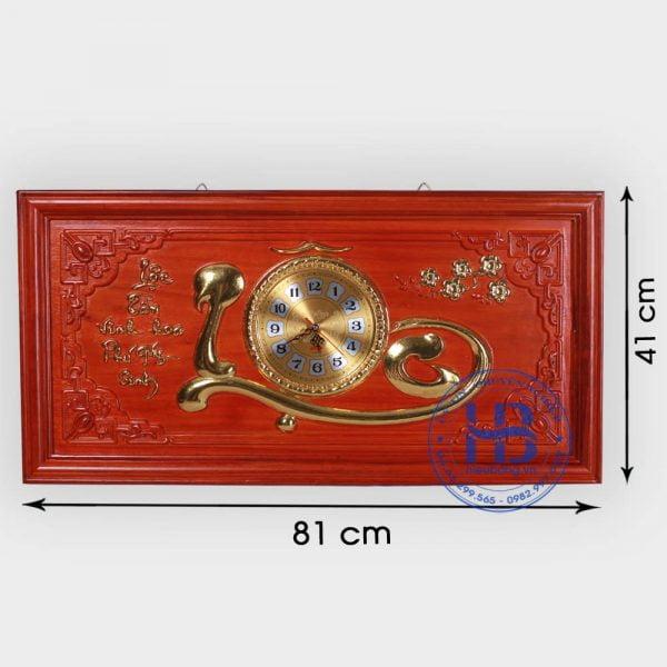 Tranh gỗ đồng hồ chữ Lộc Đẹp giá rẻ ở Hà Nội